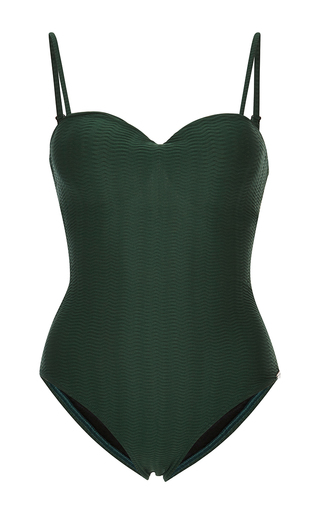 Medium prism green chateau one piece maillot