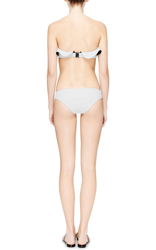 Natalie Bonded Flounce Bikini by LISA MARIE FERNANDEZ Now Available on Moda Operandi