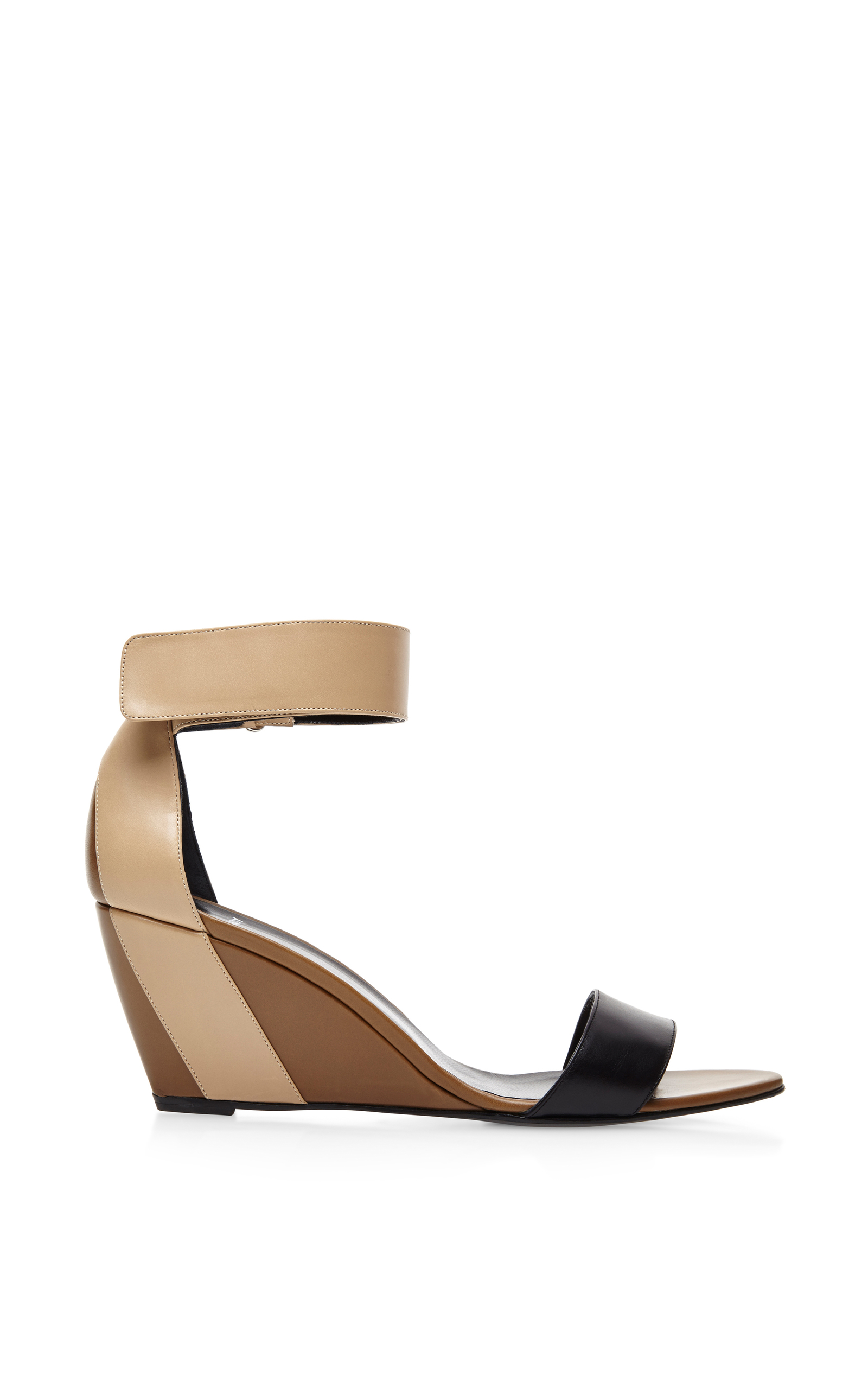 eb79dada09af Pierre HardyColor-Block Leather Wedge Sandals. CLOSE. Loading. Loading.  Loading