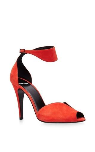 Medium pierre hardy red arletty ankle strap pump