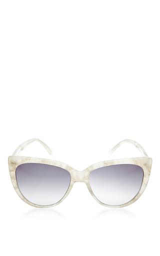 Medium prism white tokyo sunglasses white marble