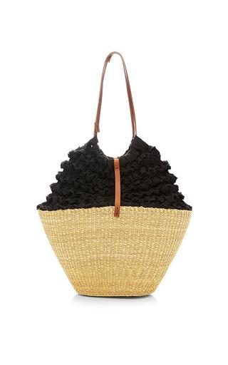 Lima Straw And Crochet Bag by MUUN Now Available on Moda Operandi