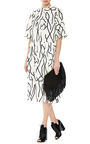 Fringed Leather Clutch by PIERRE HARDY Now Available on Moda Operandi