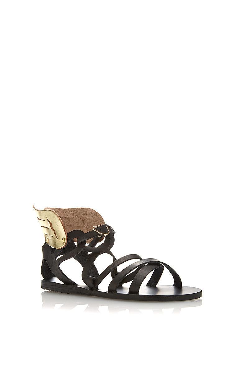 Nephele Winged Leather Sandals By Ancient Greek Moda Operandi