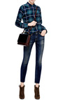 Kate Low Rise Skinny Jeans by R13 Now Available on Moda Operandi