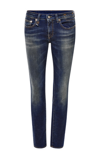 Medium r13 denim blue vintage indigo kate skinny