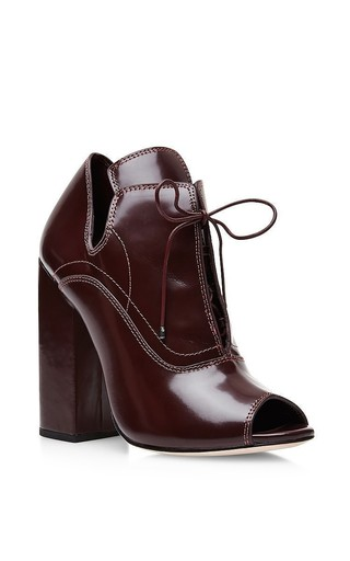 Medium ellery burgundy boardwalk high heel boots 2