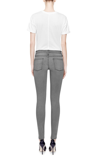 Le Boyfriend Cotton T Shirt by FRAME DENIM Now Available on Moda Operandi