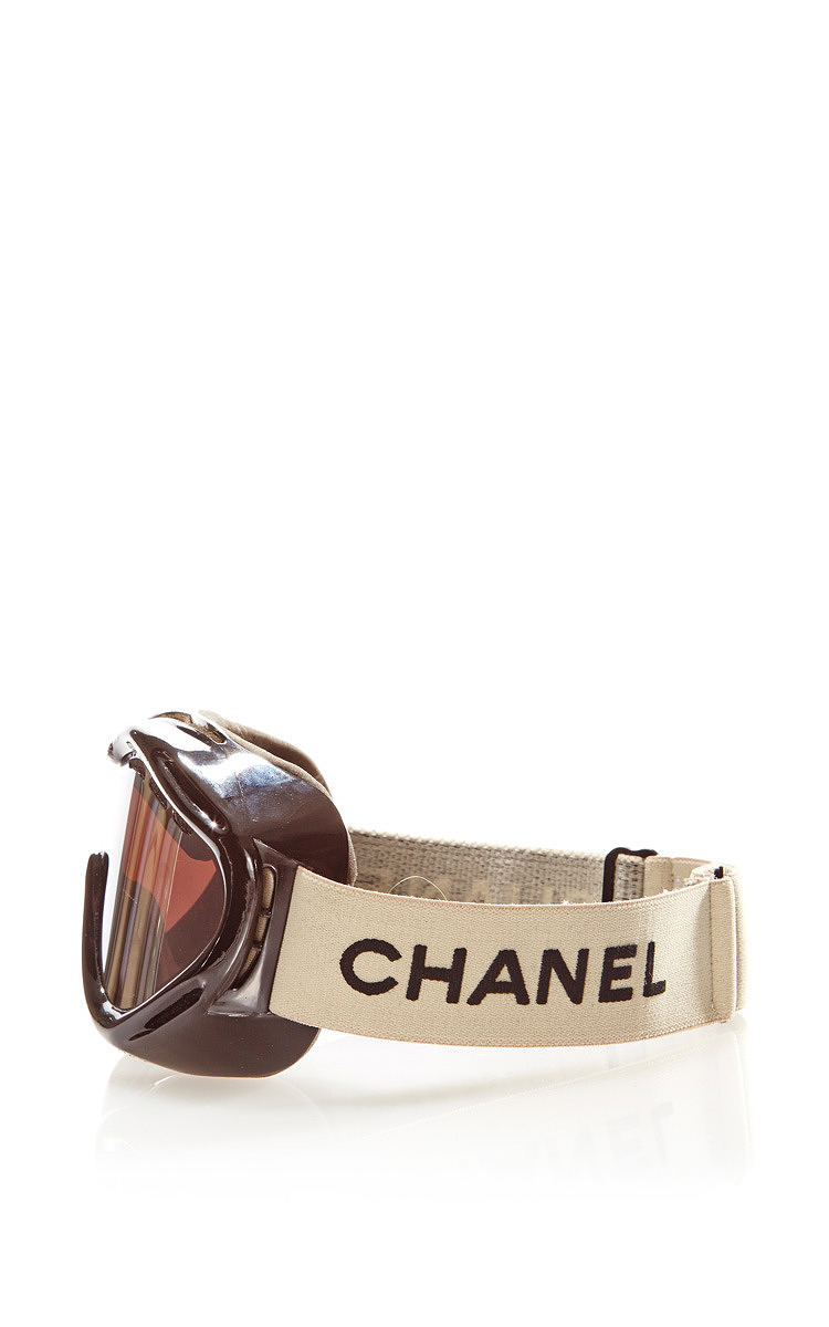 754d9ea8a387 ... AroundVintage Chanel Black Ski Goggles From What Goes Around Comes  Around. CLOSE. Loading. Loading