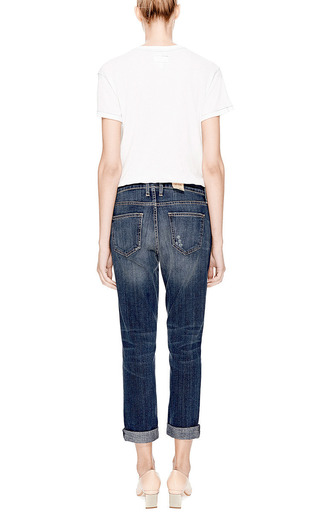The Fling Cropped Jeans by CURRENT/ELLIOTT Now Available on Moda Operandi