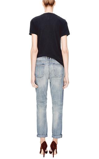 The Fling Distressed Boyfriend Jeans by CURRENT/ELLIOTT Now Available on Moda Operandi