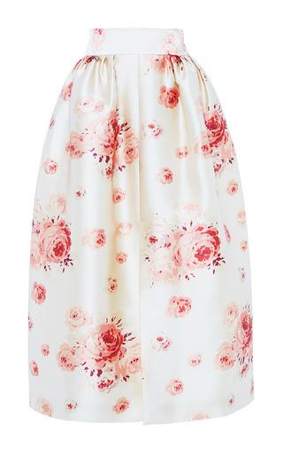 Medium vilshenko pink reda rose duchess satin skirt