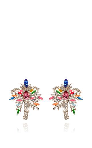 Medium shourouk multi palm earrings multi