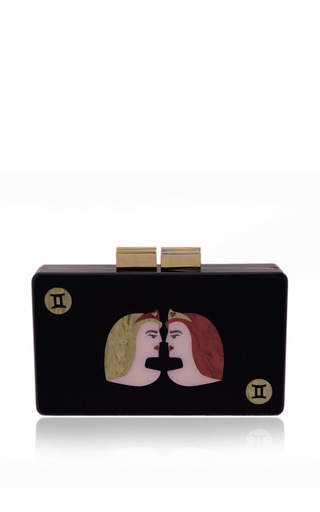 Gemini Clutch by URANIA GAZELLI for Preorder on Moda Operandi