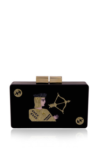 Sagittarius Clutch by URANIA GAZELLI for Preorder on Moda Operandi