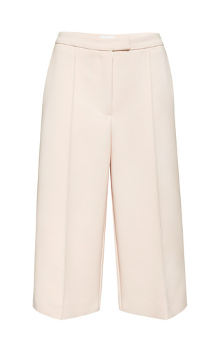 Medium osman pink themis culotte in dusty pink spongy cotton