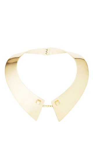 Medium maiyet gold mens collar necklace in gold