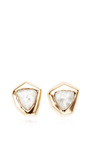 Cubist Stud Earrings by MAIYET for Preorder on Moda Operandi
