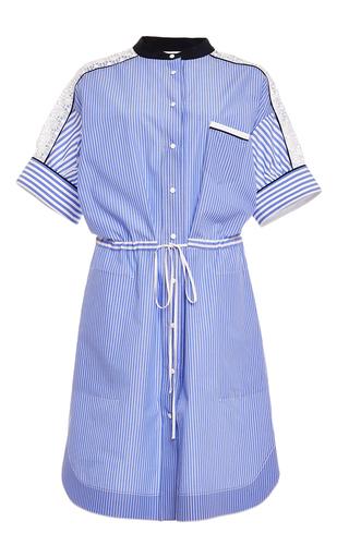 Medium aquilano rimondi blue short sleeve low waisted dress