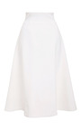 Seamed Stretch Jersey Swing Skirt by KATIE ERMILIO Now Available on Moda Operandi