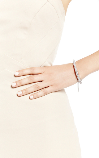 Pavé Crystal Cone Bangle by EDDIE BORGO Now Available on Moda Operandi