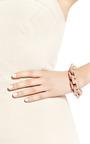 Rose Gold Plated Large Link Bracelet by EDDIE BORGO Now Available on Moda Operandi