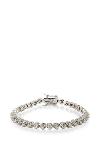 Pavé Crystal Mini Cone Bracelet by EDDIE BORGO Now Available on Moda Operandi