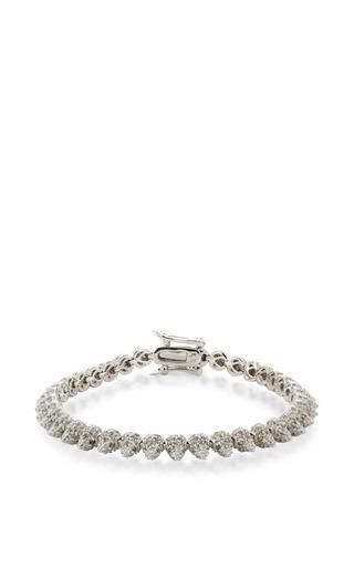 Medium eddie borgo silver pave mini cone bracelet 4