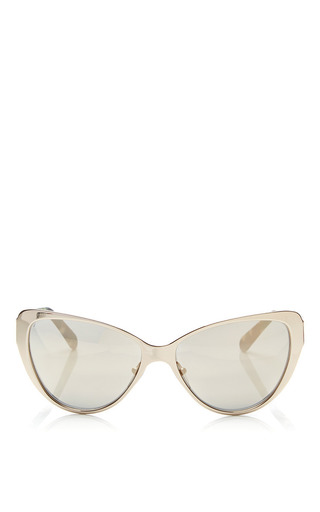 Medium prism gold capri gold mirror sunglasses