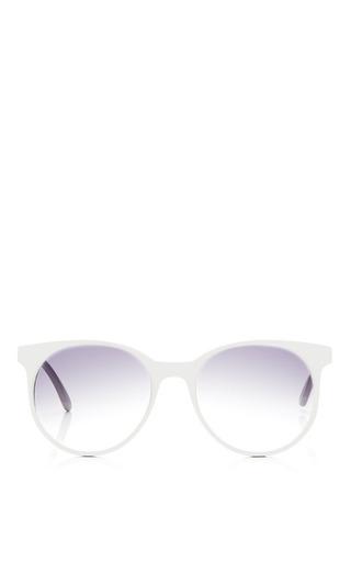 Medium prism dark grey london sunglasses in pale grey