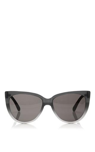 Medium prism black moscow matte black ombre mirror sunglasses