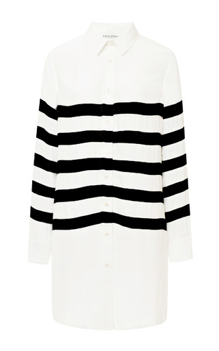 Medium each x other black striped long shirt
