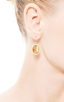 Oval Citrine Earrings by KOTHARI for Preorder on Moda Operandi