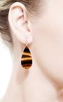 One Of A Kind Brazilian Agate Earrings by KOTHARI for Preorder on Moda Operandi