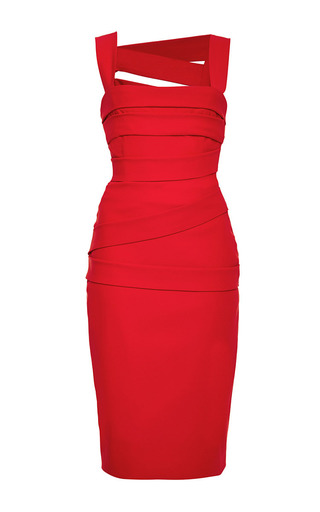 Medium preen red red cut out back dew dress