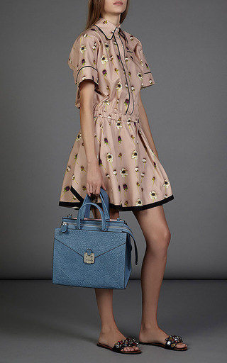 Alberta Dress In Poppy Print by NO. 21 Now Available on Moda Operandi