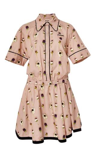 Medium no 21 pink alberta dress in poppy print
