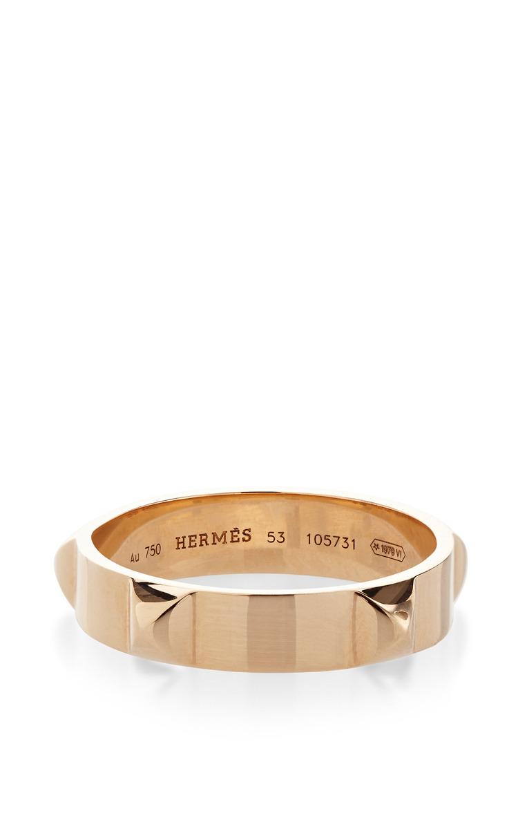 Hermes 18K Rose Gold Ring by Portero Moda Operandi