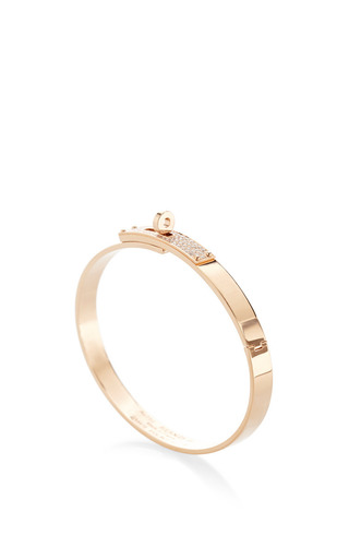 birkin bag hermes replica - Hermes Kelly H Pm 18K Rose Gold Diamond Bangle by | Moda Operandi