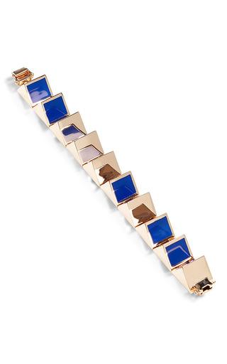 Prism Gold Plated And Enamel Bracelet by EDDIE BORGO Now Available on Moda Operandi