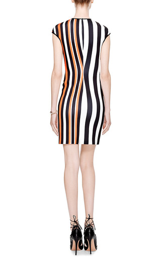 Aphrodite Printed Neoprene Dress by CLOVER CANYON Now Available on Moda Operandi