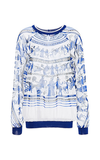 Medium clover canyon multi corinthian vase sweatshirt 2