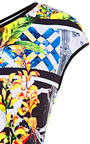 Greek Tiles Top by CLOVER CANYON Now Available on Moda Operandi