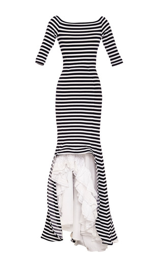 Medium natasha zinko multi maxi striped dress