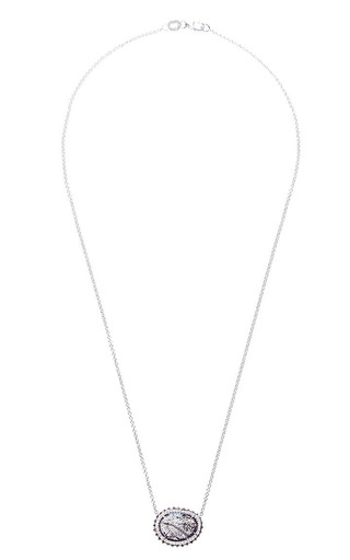 One Of A Kind Black Diamond Necklace by SUSAN FOSTER for Preorder on Moda Operandi