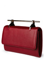 Fabricca Leather Clutch by M2MALLETIER Now Available on Moda Operandi