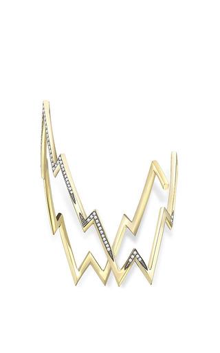 Rhodium Miss Zeus Arm Cuff by VENYX for Preorder on Moda Operandi