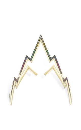 Medium venyx gold multi stone miss zeus arm cuff