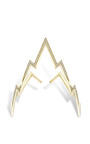 Yellow Gold Miss Zeus Arm Cuff by VENYX for Preorder on Moda Operandi