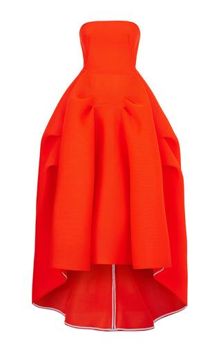 Medium maticevski orange thorax gown